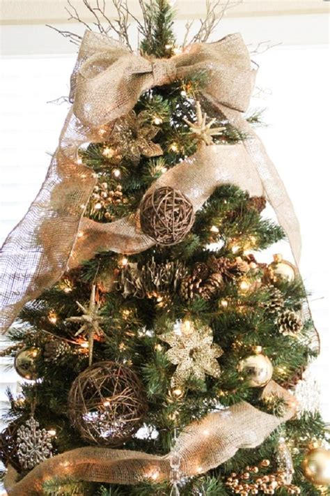 how to add ribbon to christmas tree tree ribbon ideas southern living