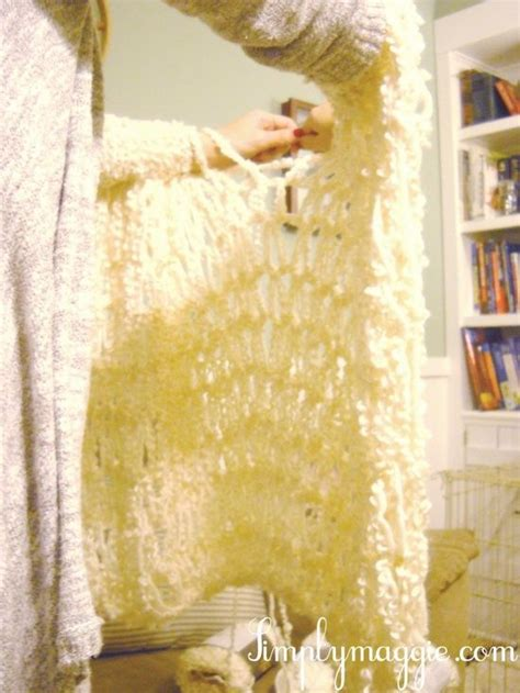what type of yarn to use for arm knitting arm knit a blanket in one hour ideas