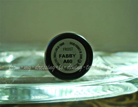 A Fabby Up by From My Dressing To Dining Table Mac Fabby Lipstick