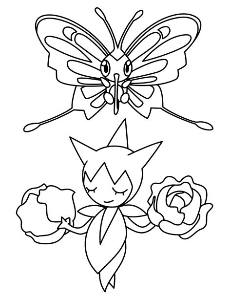 coloring page pokemon advanced coloring pages 203