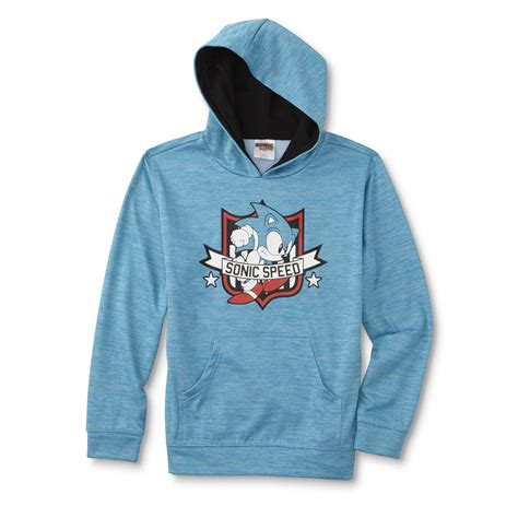 Hoodie Sonic The Hedgehog sega sonic the hedgehog boys athletic hoodie