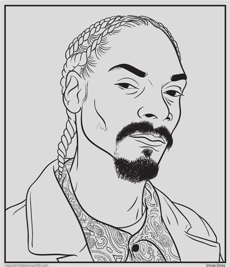 coloring book rap ti the rapper coloring pages coloring pages