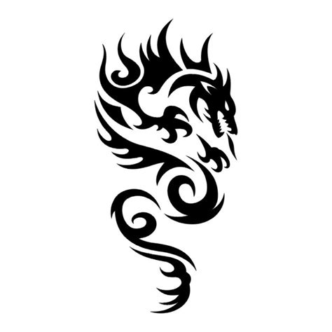 tribal dragon tattoos 32 simple tribal tattoos