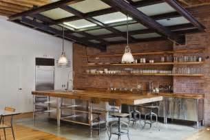 Kitchen Island Industrial Nikkimdesign Industrial Rustic