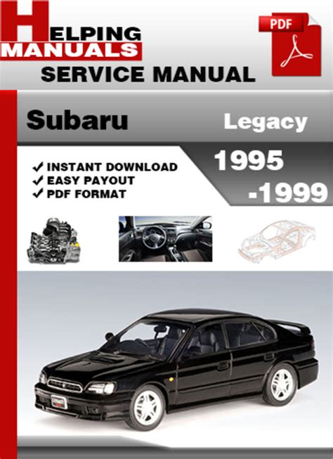 old car repair manuals 1996 subaru legacy interior lighting subaru legacy 1995 1999 service repair manual download manual digital download
