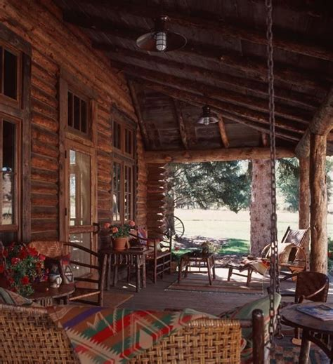 log cabin front porch swing log cabin love pinterest 285 best images about cabin fever on pinterest