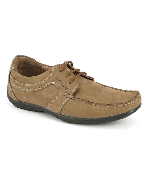 woodland brown smart casuals shoes price in india buy