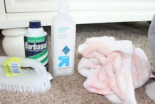 nail out of rug barbasol and acetone to get nail out of carpet getting clean