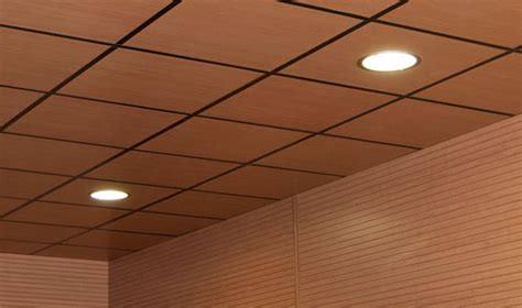 Drop Ceiling Panels by Wood Drop Ceiling Tiles Www Pixshark Images