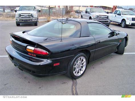 2002 chevrolet camaro z28 onyx black 2002 chevrolet camaro z28 coupe exterior photo