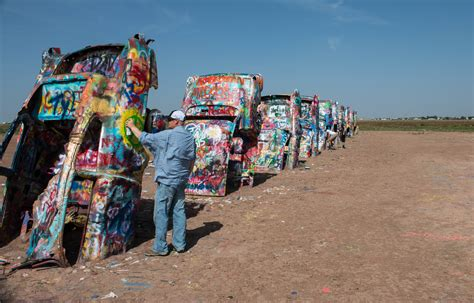 cadillac ranch location petrified forest national park