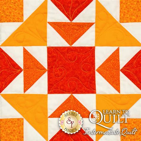 Learn To Quilt by Learn To Quilt Series Intermediate Quilt Kit