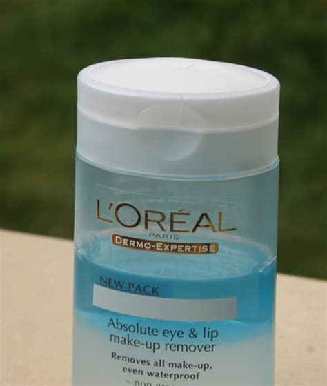 Loreal Eye And Lip Makeup Remover funky makeup junkie review l oreal absolute eye and lip