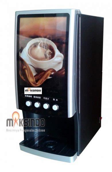 Mesin Kopi Maksindo mesin kopi vending 4 jenis minuman toko mesin maksindo