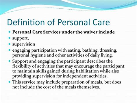 home health care definition ppt nc innovations in home