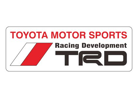 logo toyota vector image gallery trd