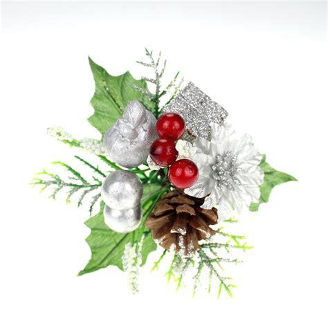 christmas floral picks