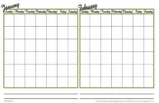calendar grid template 31 day calendar grid printable calendar template 2016
