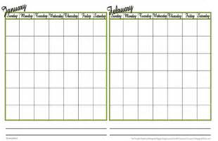 Blank weekly schedule template template for hunting inventory