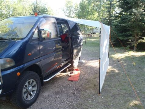 minivan awning 24 best images about mitsubishi delica on pinterest rear