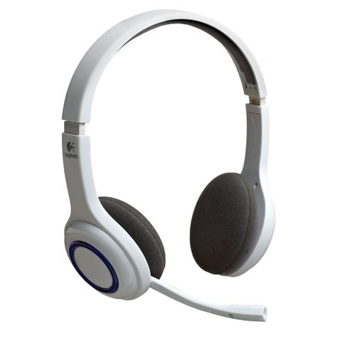 Headset Bluetooth Ipod logitech wireless bluetooth stereo headset for iphone ipod touch white ebay