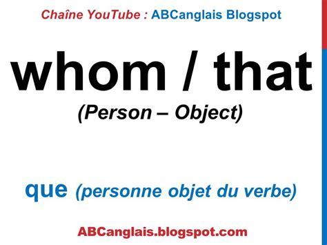 preguntas y respuestas whose cours d anglais 70 les pronoms relatifs en anglais who