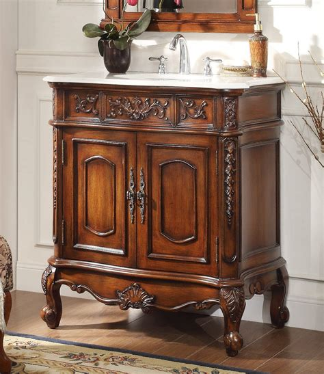 33 inch vanity cabinet adelina 33 inch antique classic bathroom vanity fully