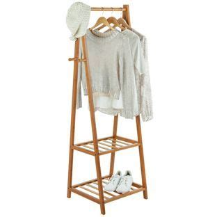 buy bamboo clothes rail half size at argos co uk your