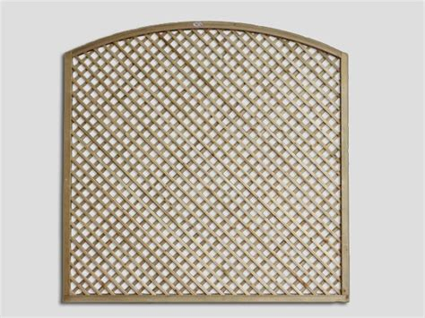 Circular Trellis Panels Continental Trellis Curved Lattice Trellis Fence