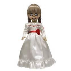 annabelle doll living dead mezco unveils annabelle living dead doll dread central
