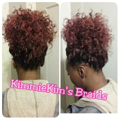 crochet ponytail hairstyles 1000 images about hair on pinterest crochet braids