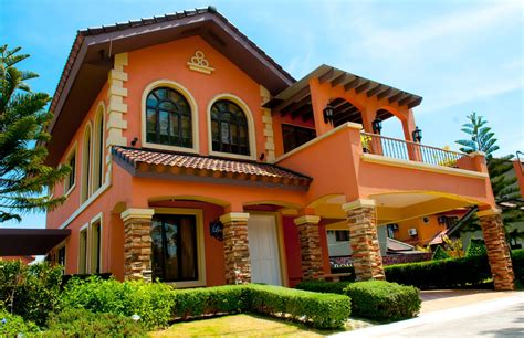 italian architecture homes homes and land philippines italian style homes at ponticelli