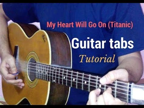 Tutorial Guitar My Heart Will Go On | titanic song my heart will go on guitar tabs lead lesson