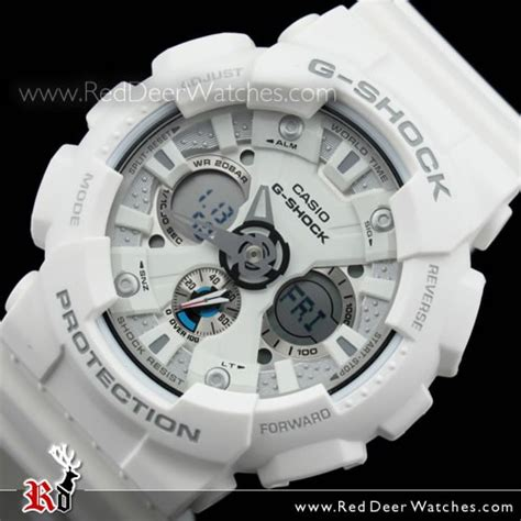 Casio G Shock Ga 110tp 7a White by Buy Casio G Shock White Analog Digital Ga 120a 7a