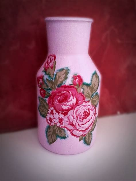 decoupage vase by coralqueen on deviantart