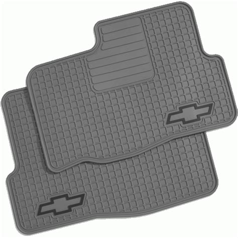 Chevy Trailblazer Floor Mats by Gm General Motors 12499327 Gm Accessories Premium Rubber Floor Mats 2002 2006 Chevy