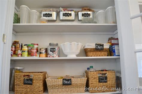 Organized Pantry by Our Organized Pantry Beneath