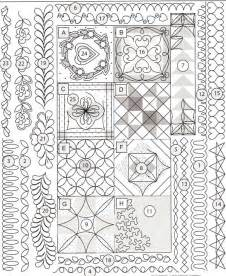 quilting templates for borders free machine embroidery quilt block free embroidery patterns