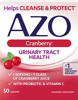 Azo Cranberry Detox Thc by Azo Complete Line Of Urinary And Products