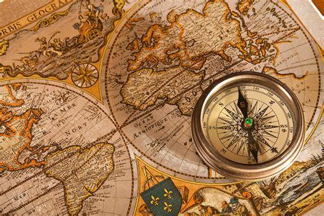 map compass oxymoronocean on