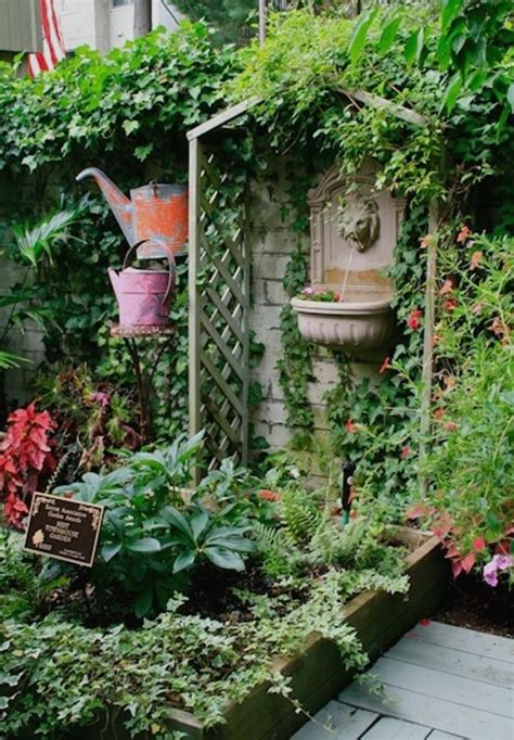 Outdoor Patio Garden Ideas 25 Best Ideas About Small Patio Gardens On Birdcages Birdcage Decor And Creative