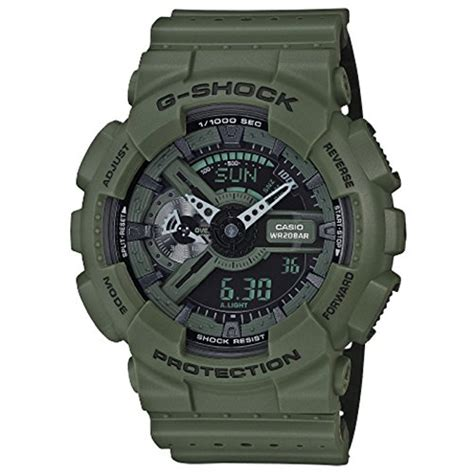 Promo Bagus Casio G Shock Ga 110 Army g shock ga 110lp perf band green one size 11street malaysia business watches