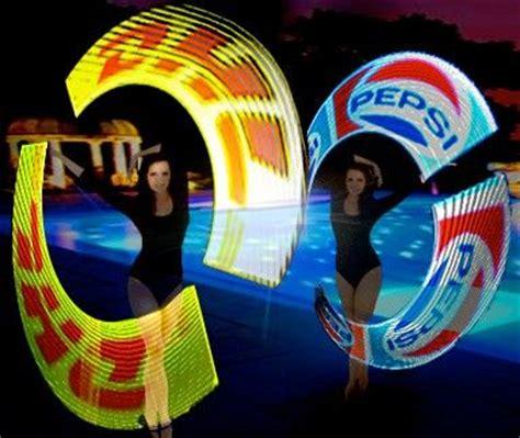 hologram led spinners bravo entertainment