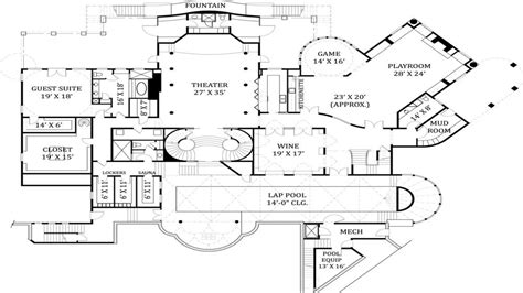 english castle floor plans castle house floor plans
