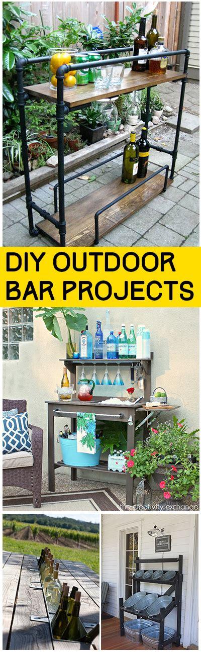 diy outdoor bar ideas bless my weeds
