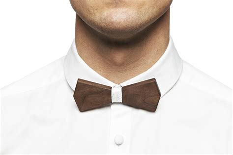 Wooden Bowtie Slim 1 b 214 wooden bow ties the awesomer