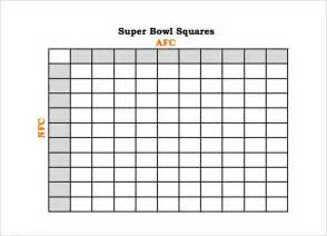 free football square template printable football square templates pdf creative template