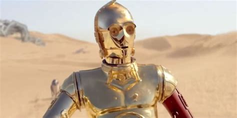 anthony j daniels the one thing c 3po s anthony daniels didn t like about