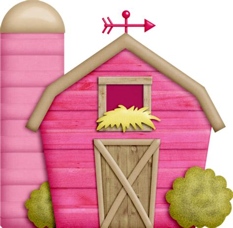 granero png imagenes infantiles granero rosa