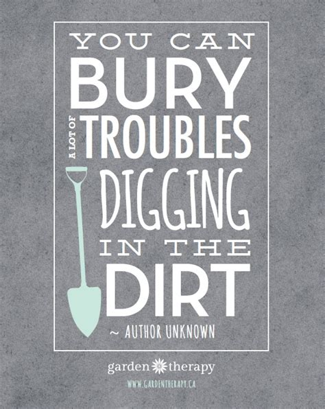 printable garden quotes bury quotes like success